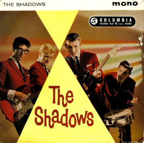 THE SHADOWS The Shadows EP Vinyl Record 7 Inch Columbia 1961.